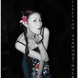 Fashion Show at Café Chaos 2 (Harmony Walker Clothing - 2009) (Image of Celinka Serre)