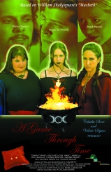 """The Official Poster (""""A Game Through Time"""" - 2005-2006) (Image of Celinka Serre, with Valérie Séguin, Denise Paquet, Tommy Furino, Marc Labriola and Heidy Medloby)"""