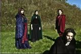 """During the apparitions (""""A Game Through Time"""" - 2005-2006) (Image of Celinka Serre, with Valérie Séguin, Denise Paquet and Tommy Furino)"""