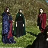 "During the apparitions (""A Game Through Time"" - 2005-2006) (Image of Celinka Serre, with Valérie Séguin, Denise Paquet and Tommy Furino)"
