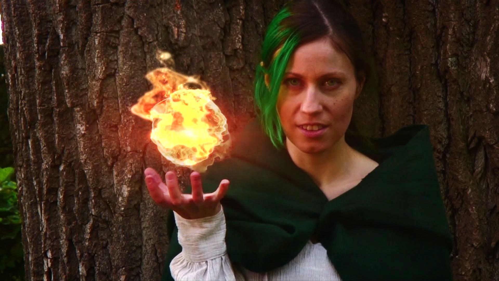 Fireball-02 with magic