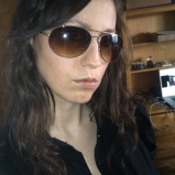 Attitude with sunglasses, hair down - 2011 (Image of Celinka Serre)