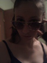 Attitude with sunglasses, hair tied - 2011 (Image of Celinka Serre)