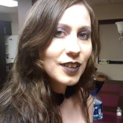 Smiling goth (Halloween 2011) (Image of Celinka Serre)