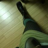 Just the leg and the knife - Halloween 2012 (Image of Celinka Serre)