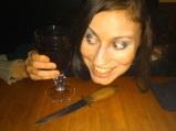 Funny caption at the bar - Halloween 2012 (Image of Celinka Serre)