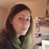 Lime green in orange light (Winter 2012) (Image of Celinka Serre)