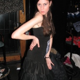 Café Chaos fashion show 3 (Harmony Walker Clothing - Autumn 2010) (Image of Celinka Serre)