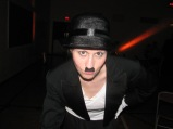 From a Hip Hop live performance with Académie Danielle Nepveu, as Charlie Chaplin) (Image of Celinka Serre)