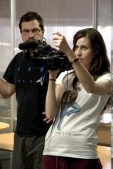 Focusing (Season 1 - Behind-the-Scenes) (Image of Celinka Serre, with Simon Gaudreault)