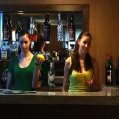 """You take it in your left hand"" (Eating A Lemon - 2010/2011) (Image of Celinka Serre, with Celinka Serre (split screen))"