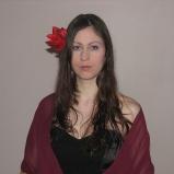In my black medieval dress in 2009 (Image of Celinka Serre)