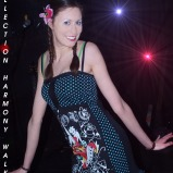 Fashion Show at Café Chaos 4 (Harmony Walker Clothing - 2009) (Image of Celinka Serre)