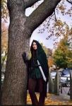 Portfolio – Arwen by a Tree – Holloween2002