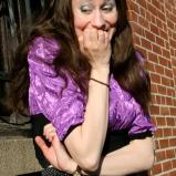 Outdoor photo shoot (me affeared) (Harmoney Walker Clothing - Spring 2010) (Image of Celinka Serre)
