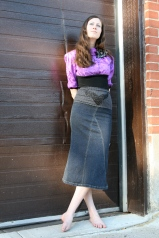 Outdoor photo shoot 1 (Harmony Walker Clothing - Spring 2010) (Image of Celinka Serre)