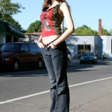 Outdoor photo shoot 2 (Harmony Walker Clothing - Spring 2010) (Image of Celinka Serre)