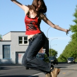 Outdoor photo shoot 5 (Harmony Walker Clothing - Spring 2010) (Image of Celinka Serre)