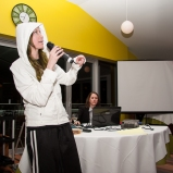 "Slim atitude (Party with Tootelo, performing Eminem's ""The Real Slim Shady"" - February 2013) (Image of Celinka Serre)"