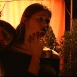 "Talking about a crying babe (""A Game Through Time"" - 2005-2006) (Image of Celinka Serre, with Valérie Séguin)"