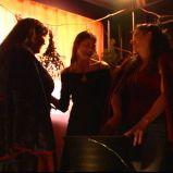 "More incantations (""A Game Through Time"" - 2005-2006) (Image of Celinka Serre, with Valérie Séguin and Denise Paquet)"