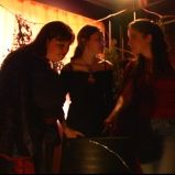 "Incations (""A Game Through Time"" - 2005-2006) (Image of Celinka Serre, with Valérie Séguin and Denise Paquet)"