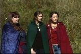 """""""Show his eyes and grieve his heart..."""" (""""A Game Through Time"""" - 2005-2006) (Image of Celinka Serre, with Valérie Séguin and Denise Paquet)"""