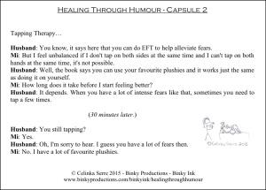 Healing Through Humour - Capsule 2 Celinka Serre - Binky Productions - Binky Ink