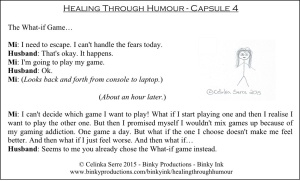 Healing Through Humour - Capsule 4 Celinka Serre - Binky Productions - Binky Ink