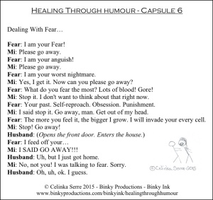 Healing Through Humour - Capsule 6 Celinka Serre - Binky Productions - Binky Ink