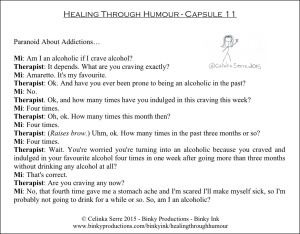 Healing Through Humour - Capsule 11 Celinka Serre - Binky Productions - Binky Ink