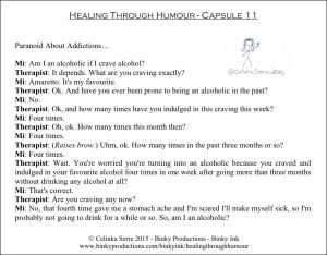 Healing Through Humour - Capsule 11 Celinka Serre - Binky Productions - Binky Ink