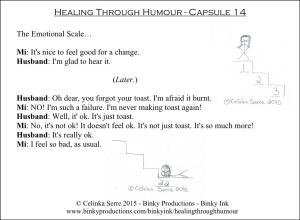 Healing Through Humour - Capsule 14 Celinka Serre - Binky Productions - Binky Ink