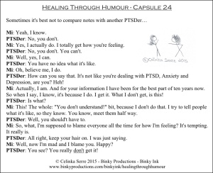 Healing Through Humour - Capsule 24 Celinka Serre - Binky Productions - Binky Ink