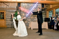 Celinka Serre, François St-Maurice (First Dance/Lightsaber Fight) - Wedding (Matt Ayotte)