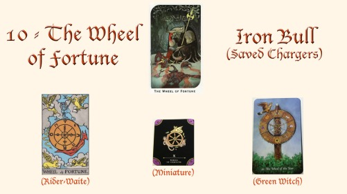 10 - The Wheel of Fortune