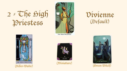 2 - The High Priestess