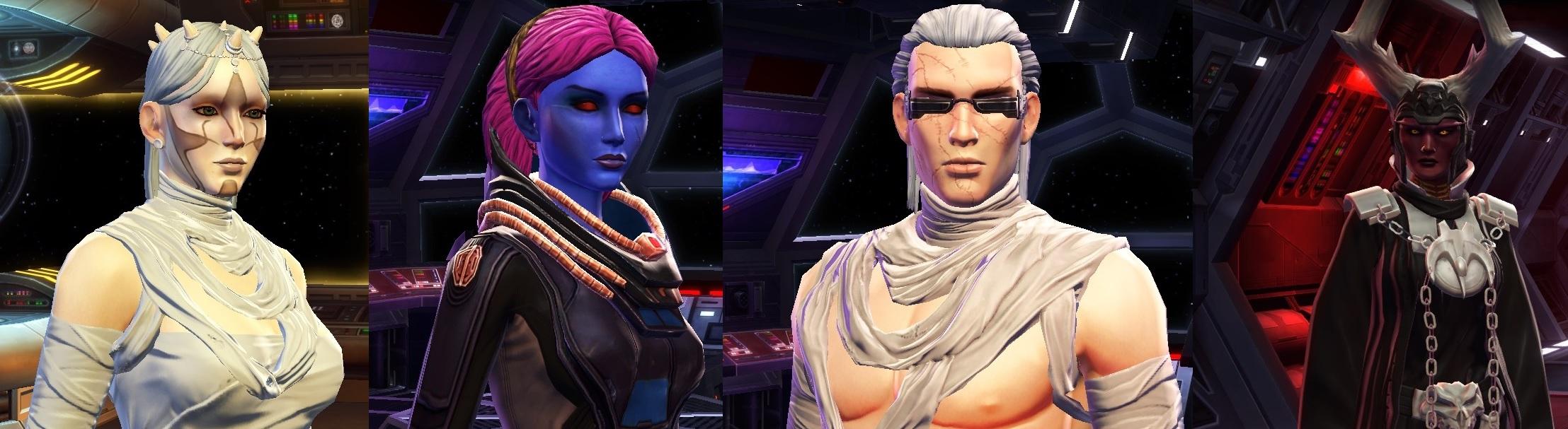 SWTOR Main Characters