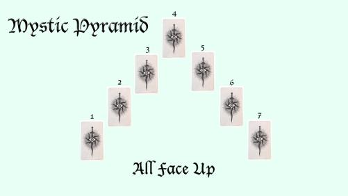 Tarot Spread Mystic Pyramid