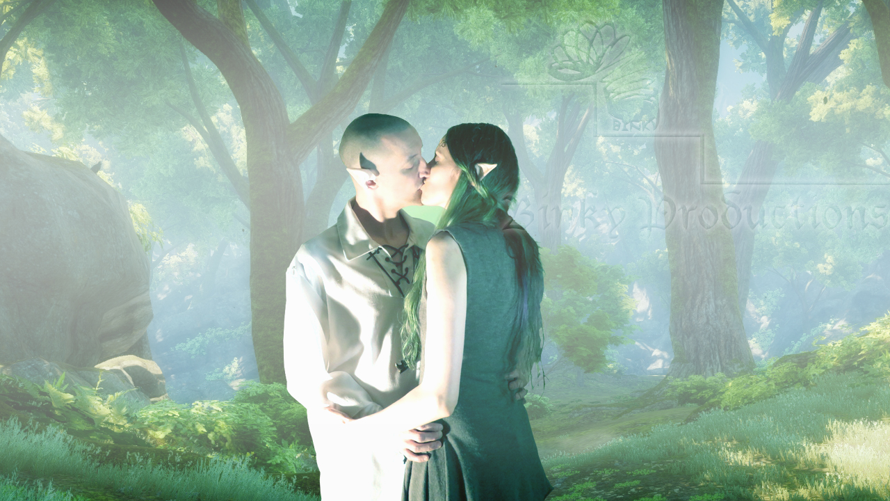 Kissing in the Fade (watermark2)