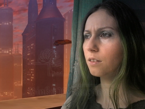 Jedi Shadie Wistful on Coruscant (Shadie Series - Binky Ink - Celinka Serre)