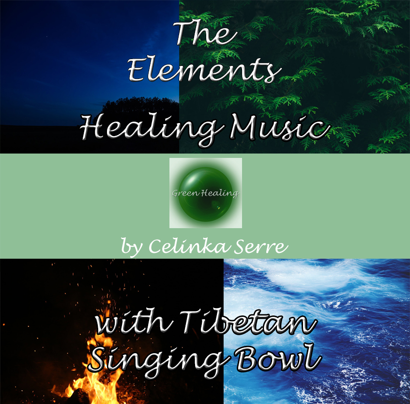 The Elements Healing Music album cover