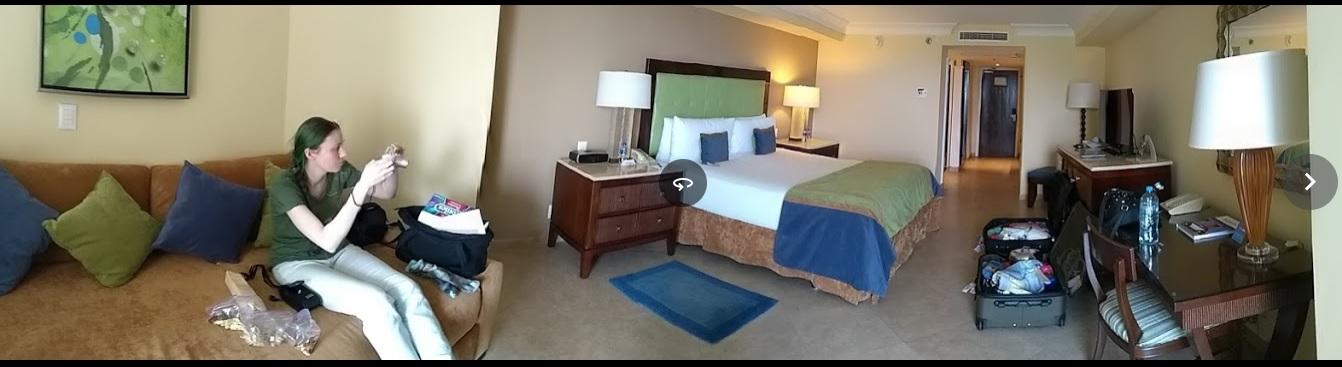 hotel room panoramic