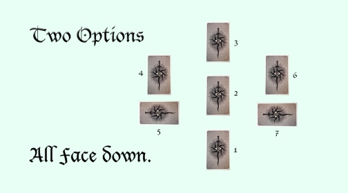 Tarot Spread Two Options