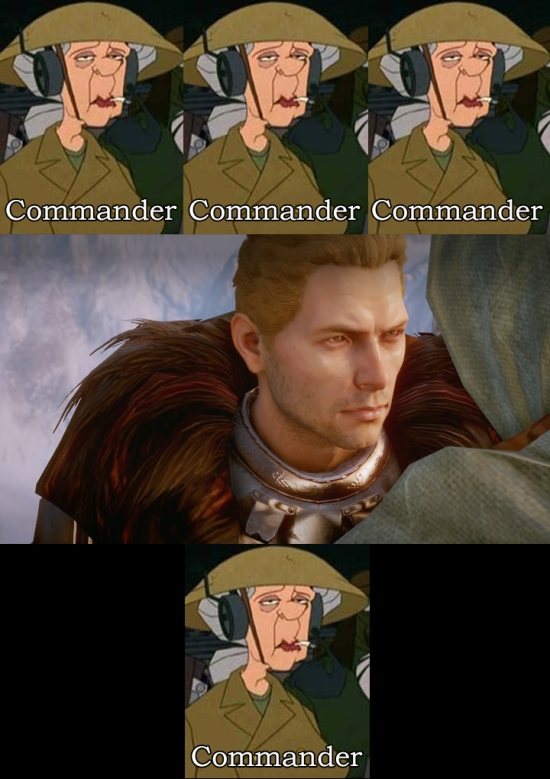 Annoyed Commander