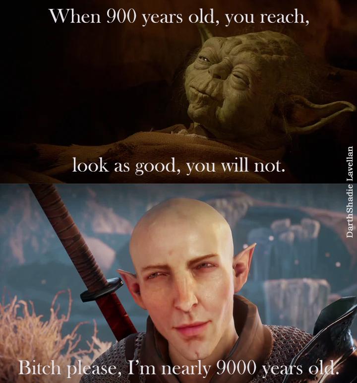 Yoda vs SOlas old look good