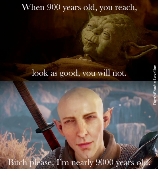 Yoda vs SOlas old look good