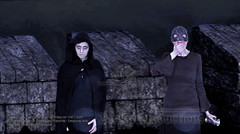 Camallia & Callista 2 (The Setting of the Light - Dragon Age) (Celinka Serre DarthShadie Lavellan)