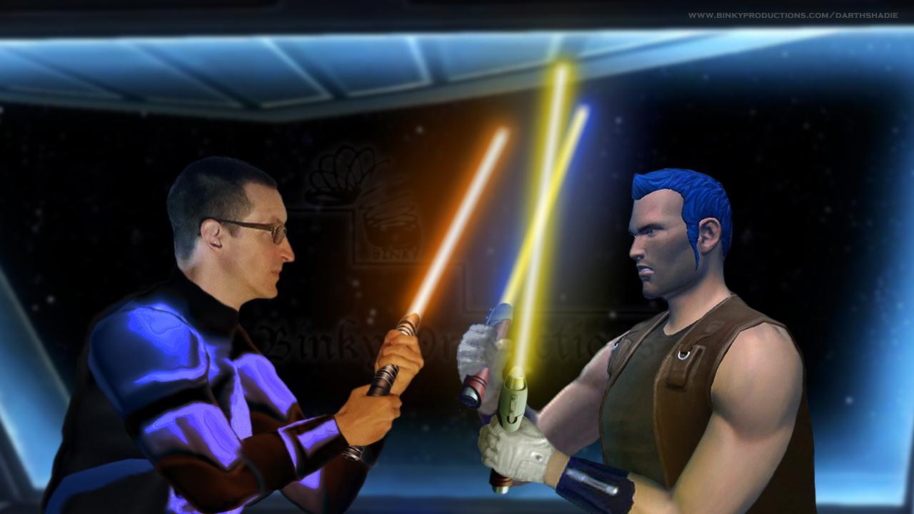 Brenum and Knarf duel (S6 Ch7) w