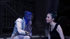 Fane Enters Relsor's Mind and Speaks to Shadie (from Healers of the Force, Story 6, Star Wars Fan-Fiction by Celinka Serre)